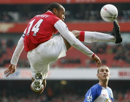 France's Football Phenom Thierry Henry
