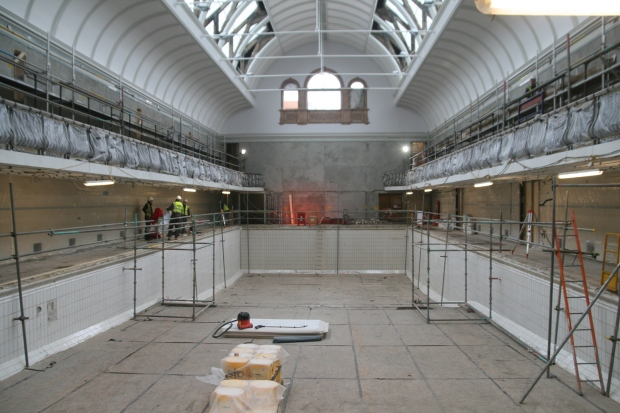 Inside Prince of Wales Baths