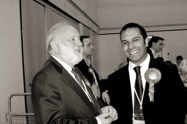 Frank Dobson and Raj Chada