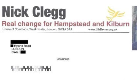 Nick Clegg's letter