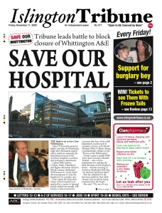 Islington Tribune: Dec 2009 - the campaign begins..