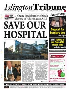 Islington Tribune: Dec 2009 - the campaign begins..