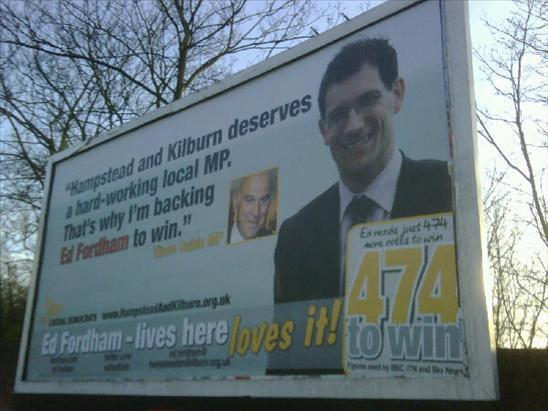 Ed Fordham billboard