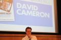 David Cameron at Saga event