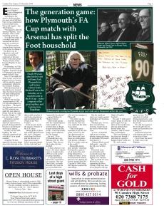 Plymouth Arsenal, Camden New Journal
