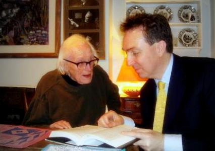 Michael Foot and Nick Smith