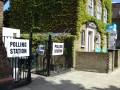 Swiss Cottage polling station