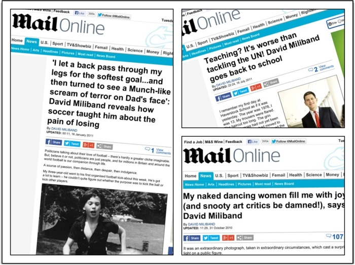 Miliband daily mail