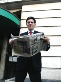 David Miliband follows all the local politics in his preferred weekly read.