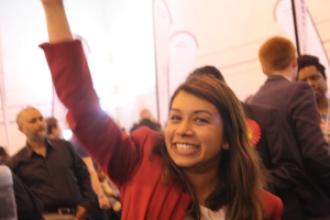 Tulip Siddiq leaves the council... that's not why she's punching the air