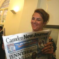 Tracey Emin rarely seen without a CNJ