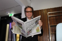 The Kinks' legend Ray Davies with his favourite weekly read