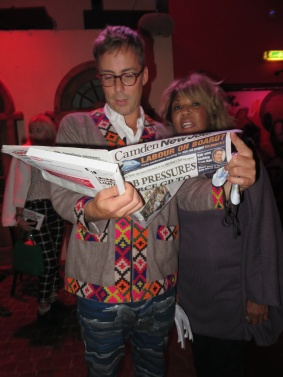 Felix Buxton, from Basement Jaxx, is never without his weekly CNJ