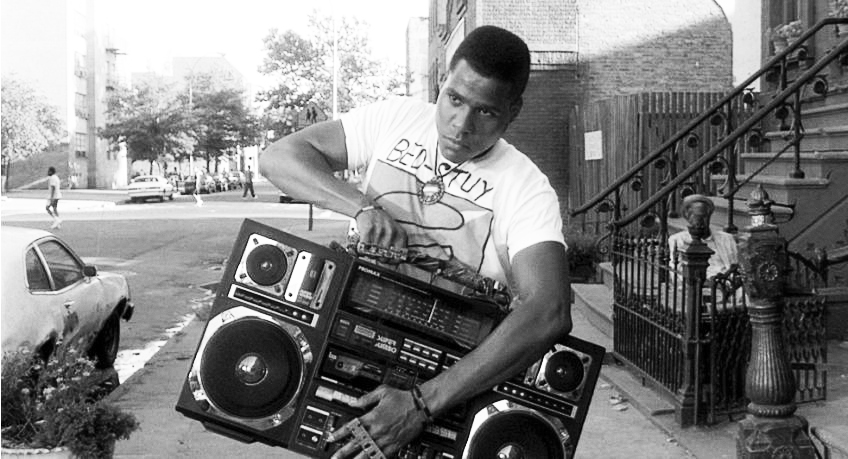 do the right thing boombox