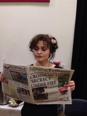 Helena Bonham Carter loves the Trib
