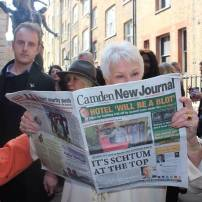 Don't disturb Dame Judi Dench when she's reading the CNJ