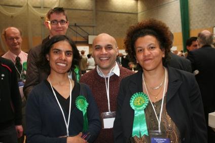 Maya De Souza and Greens