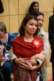 Tulip Siddiq, first election win, Rehana