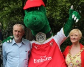 Jeremy Corbyn, Gunnersaurus, Kat Fletcher