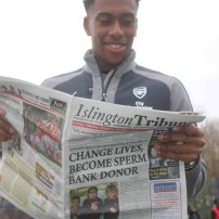 Arsenal's Alex Iwobi follows the latest planning news in the Trib