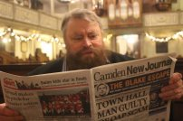 Brian Blessed loves the New Journal's Review section