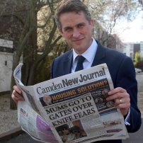 Defence Secretary Gavin Williamson never misses an edition